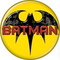 Batman Logo Button (2012 Ata-Boy) ITEM#82012