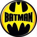 Batman Logo Button (2012 Ata-Boy) ITEM#82015