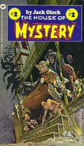 House of Mystery PB (1973 Warner Books) by Jack Oleck 2-1ST
