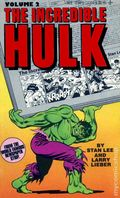 Incredible Hulk from the World Famous Newspaper Strip PB (1980 Tempo Books) 2-1ST