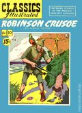 Classics Illustrated 010 Robinson Crusoe 10