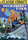 Classics Illustrated 019 Huckleberry Finn (1944) 1A
