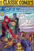 Classics Illustrated 031 The Black Arrow (1946) 1