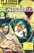 Classics Illustrated 040 Mysteries (1947) 1