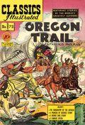 Classics Illustrated 072 The Oregon Trail (1950) 1