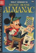 Dell Giant Mickey Mouse Almanac (1957 Dell) 1