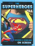 Files Magazine Spotlight on the Superheroes File: Superman and Spider-Man On Screen SC (1986) 1-1ST