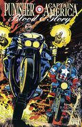 Blood and Glory (1992 Marvel) Punisher and Captain America 2
