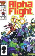 Alpha Flight (1983 1st Series) 34