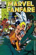 Marvel Fanfare (1982 1st Series) 4