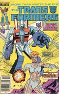 Transformers (1984 Marvel) 1st Printing 9