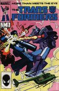 Transformers (1984 Marvel) 1st Printing 6