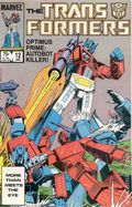 Transformers (1984 Marvel) 1st Printing 12