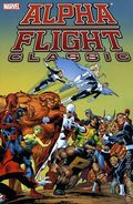 Alpha Flight Classic TPB (2007-2011 Marvel) By John Byrne 1-1ST
