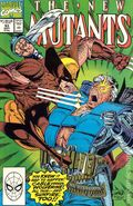 New Mutants (1983 1st Series) 93