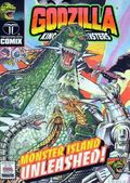 Godzilla King of the Monsters Ashcan (1994) 0