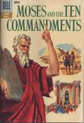 Dell Giant Moses and the Ten Commandments (1957 Dell) 1A