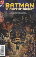 Batman Shadow of the Bat (1992) 50DF.SIGNED