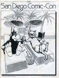 San Diego Comic Convention Program SC (1970-1996 Comic Con International) 1984-1ST