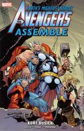 Avengers Assemble TPB (2010-2012 Marvel) By Kurt Busiek 5-1ST