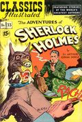 Classics Illustrated 033 Adventures of Sherlock Holmes (1947) 4A