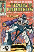 Transformers (1984 Marvel) 1st Printing 3