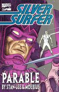 Silver Surfer Parable TPB (1988 Marvel) 1-1ST