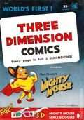 Three Dimension Comics Mighty Mouse (10/1953 2nd Printing) 1W