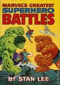 Marvel's Greatest Superhero Battles HC (1978 Fireside) 1-1ST