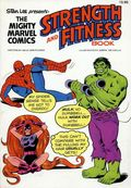 Mighty Marvel Comics Strength and Fitness Book SC (1976 Fireside) 1-1ST