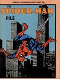 Comics File Magazine Spotlight on the Spider-Man File SC (1986 Heroes Publishing) 1-1ST