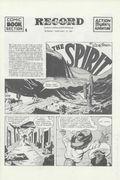 Spirit Weekly Newspaper Comic (1972) Collectors' Edition Reprints Jan 26 1941