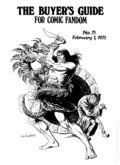 Comics Buyer's Guide (1971) 75
