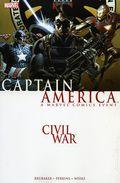 Civil War Captain America TPB (2007 Marvel) 1-1ST