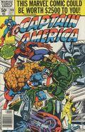 Captain America (1968 1st Series) Mark Jewelers 249MJ
