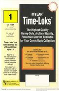 Comic Sleeve: Mylar Current Time-Loks 1pk (#704-001)