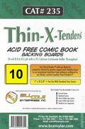 Comic Boards: Standard Thin-X-Tender 10pk (#235-010)