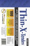 Comic Boards: Silver/Gold Thin-X-Tender100pk (#215-100)