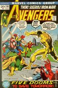 Avengers (1963 1st Series) National Diamond 101NDS