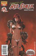 Sword of Red Sonja Doom of the Gods (2007) 2A