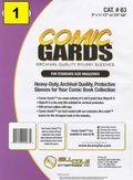 Comic Sleeve: Mylar Magazine Comic-Guard 1pk (#063-001)
