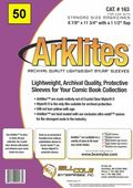 Comic Sleeve: Mylar Magazine Arklite 50pk (#163-050)