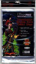 Comic Bags: Golden Resealable 100pk Polypropylene