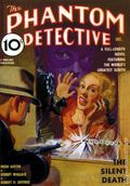 Phantom Detective Dec 1936 Replica SC (2008 Adventure House) The Silent Death 1-1ST