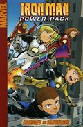 Iron Man/Power Pack Armored TPB (2008 Digest) 1-1ST