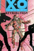 X-O Manowar Retribution TPB (1993 Valiant) 1C-1ST