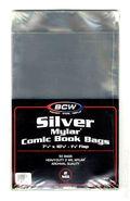 Mylar: Comic, Silver 50pk 2Mil