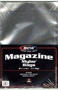 Mylar: Comic, Magazine 50pk 2Mil
