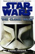 Star Wars The Clone Wars HC (2008 Novel) 1-1ST