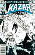 Ka-Zar the Savage (1981 Marvel) 6MISPRINT